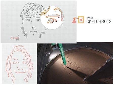 Chrome convierte tu imagen en un dibujo en arena