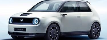 Honda e: una letra basta para nombrar al nuevo auto eléctrico retro de Honda