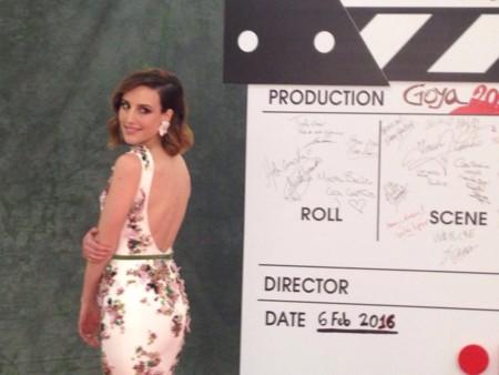 Natalia De Molina Look Goya 2016
