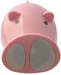 Mis altavoces dicen ¡Oink! ¡Oink!