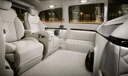 Mercedes-Benz Viano Vision Diamond Concept