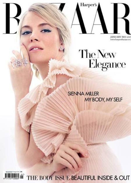 Sienna Miller vuelve romántica a las portadas
