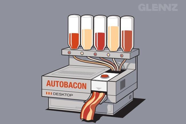 Autobacon for Maquina que cocina