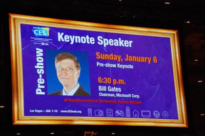 Imagen de la semana: Bill Gates dice adiós al CES