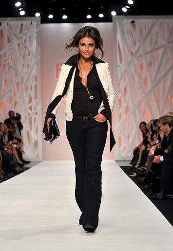 Mónica Cruz desfila en la Semana de la Moda de Londres