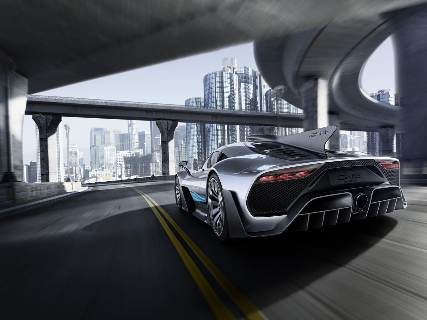 Foto de Mercedes-AMG Project One Conept: (8/11)