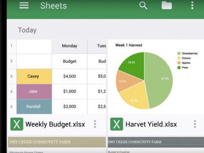 Google Sheets y Slides se actualizan para ayudarte a trabajar mejor desde tu smartphone