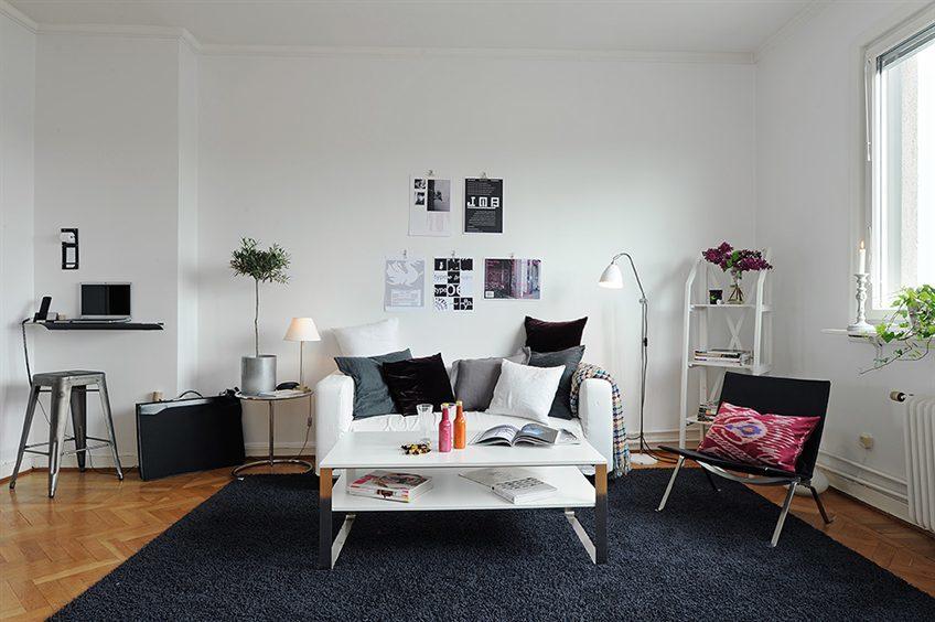 Foto de Puertas abiertas: un apartamento de 38 metros cuadrados de inspiración escandinava (7/12)
