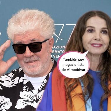 Pedro Almodóvar se cabrea y responde a las acusaciones de Victoria Abril en el estreno de Masterchef Celebrity