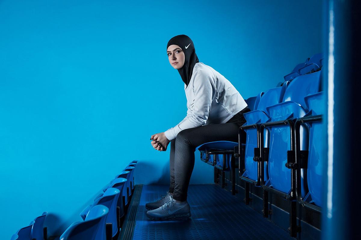 Foto de Nike Pro Hijab (3/5)