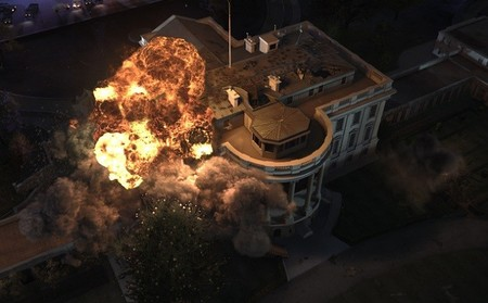 La acción y las explosiones de