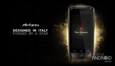 Antares, el Android de lujo diseñado por Tonino Lamborghini