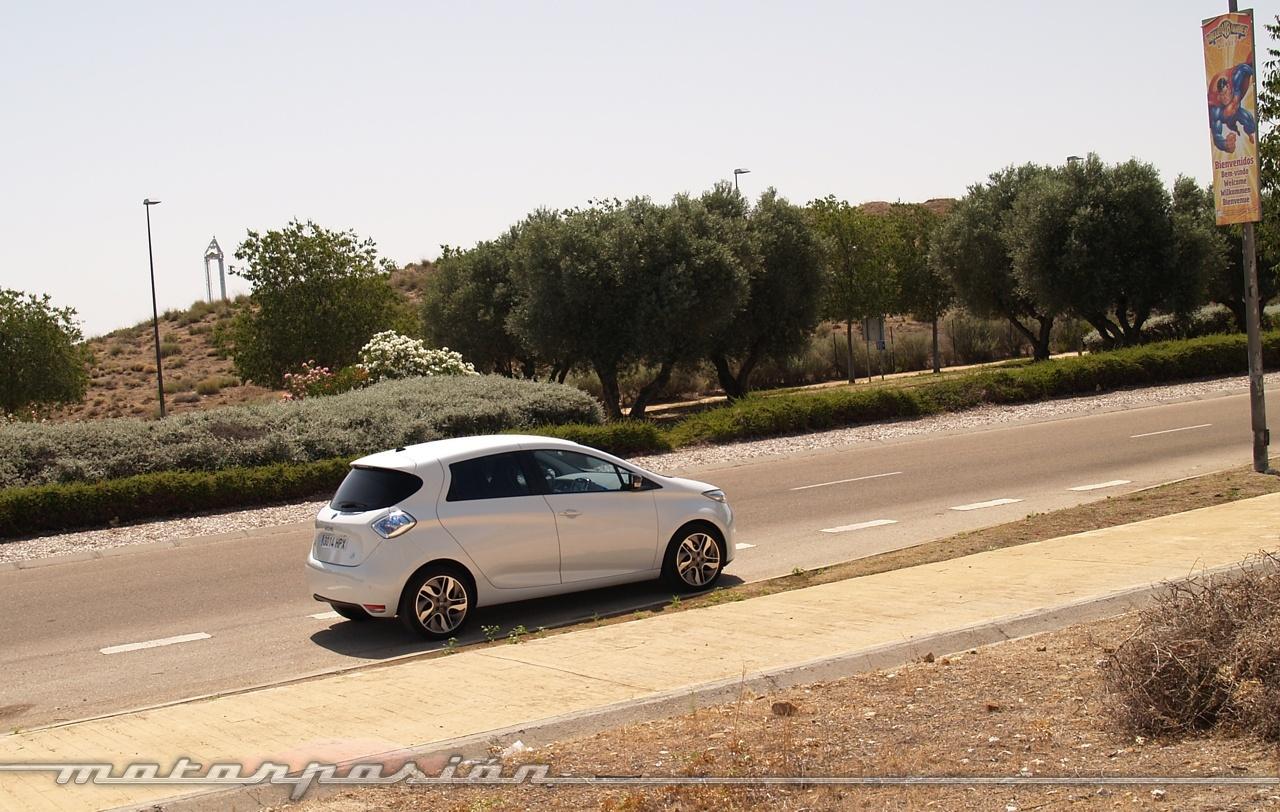Foto de Reto de autonomía eléctrica en un Renault ZOE (9/18)