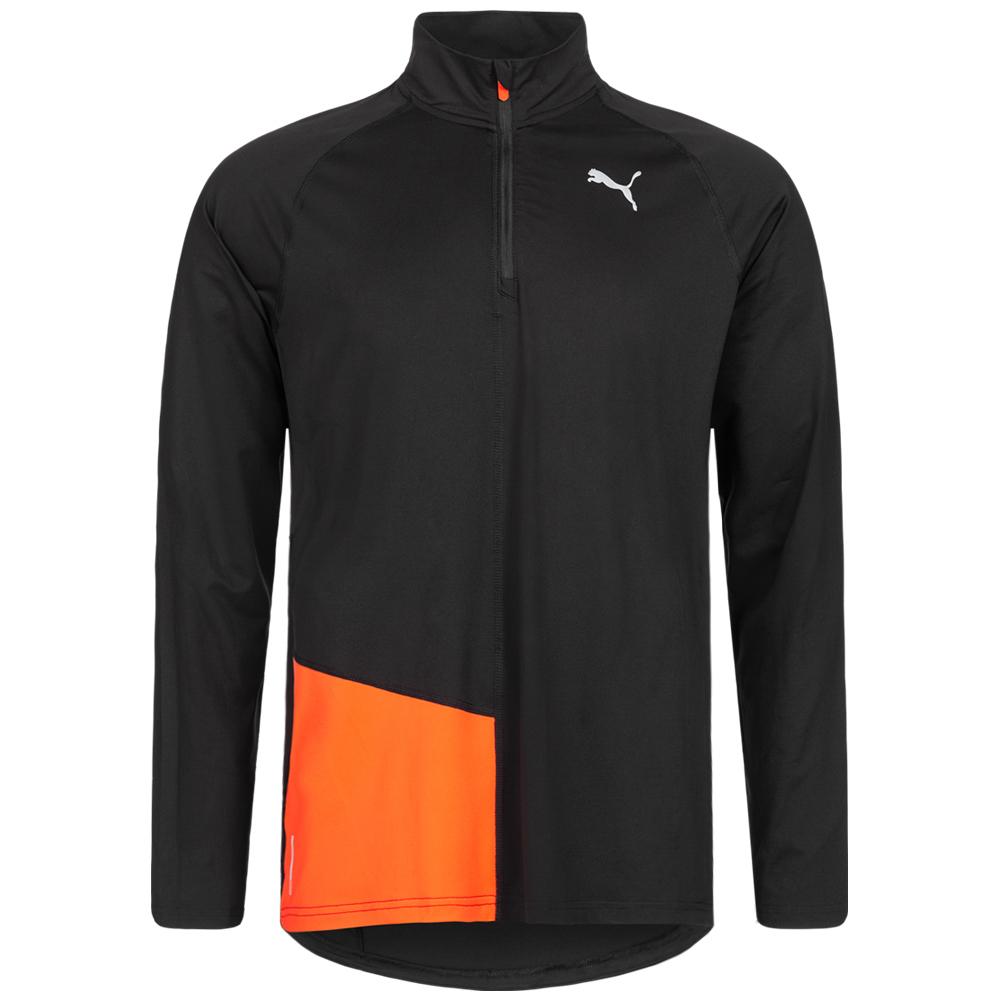 PUMA Ignite 1/2 Zip Hombre Camiseta de running 518404-01