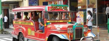 La increíble historia de los autobuses filipinos que un día fueron coches del Ejército de EEUU