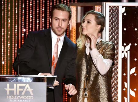 Ryan Gosling y Saoirse Ronan