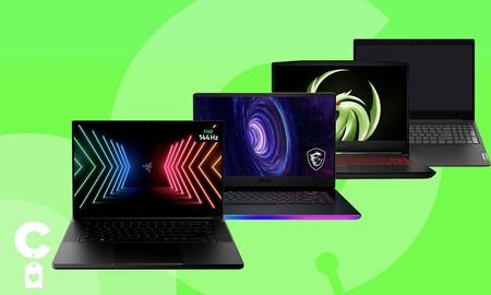 20 portátiles gaming y de trabajo a precios rebajados en Amazon: ahorra en modelos de HP, Huawei, Lenovo, LG, MSI o Razer