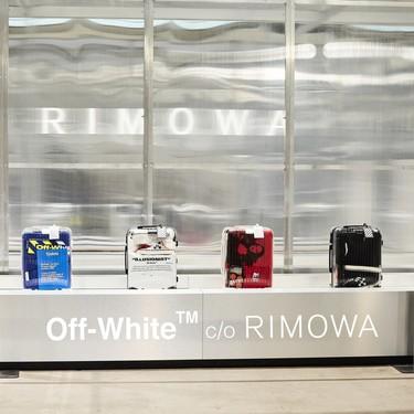 Rimowa vuelve a hacer mancuerna con Off-White presentándonos maletas para viajar con hype