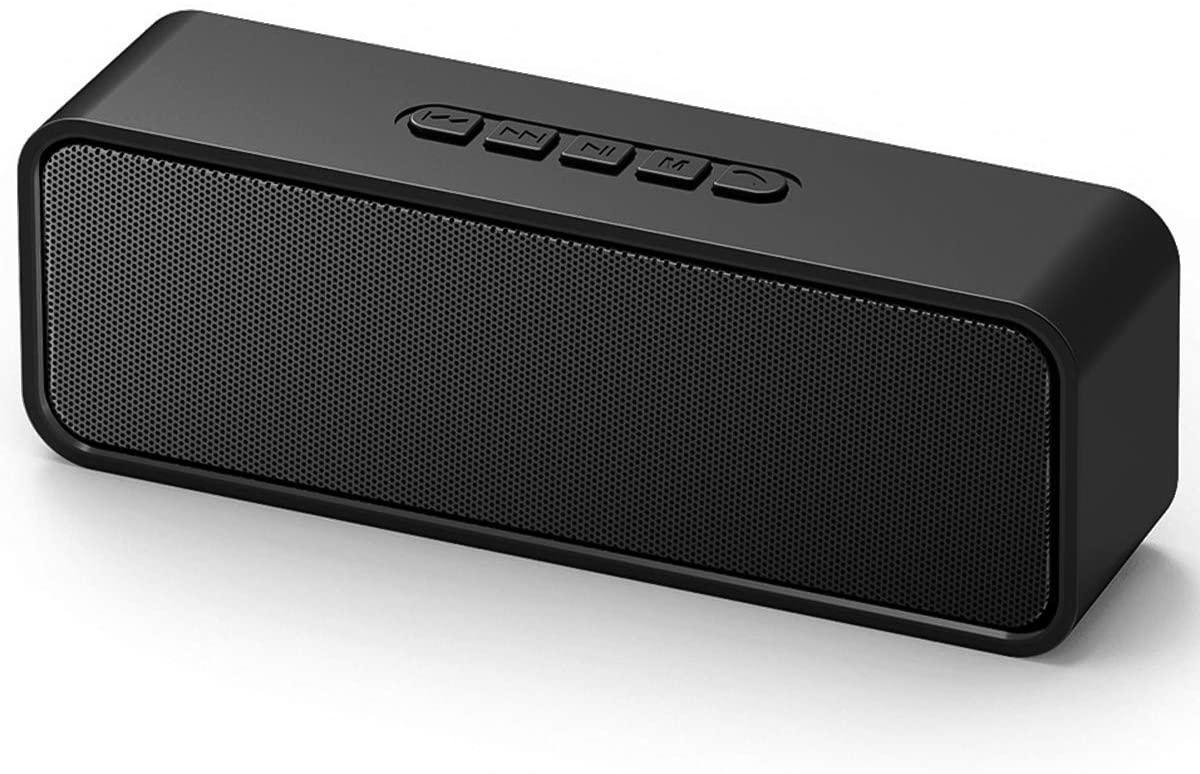 TXG - Bocina Bluetooth 5.0 portátil, bocinas duales con sonido estéreo