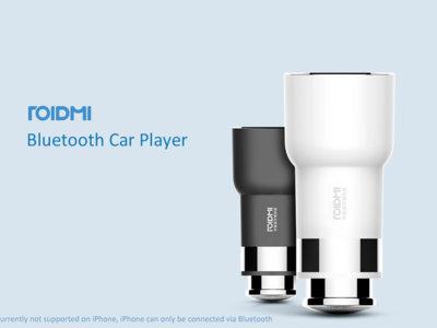 Cargador de coche con transmisor FM Xiaomi Roidmi por 9 euros