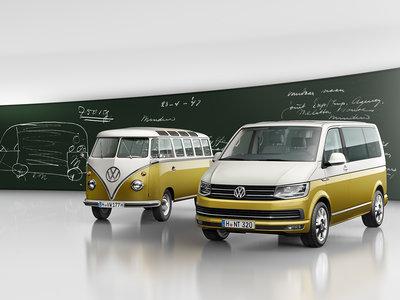 Volkswagen celebra 70 años de la Combi con una Multivan de look retro