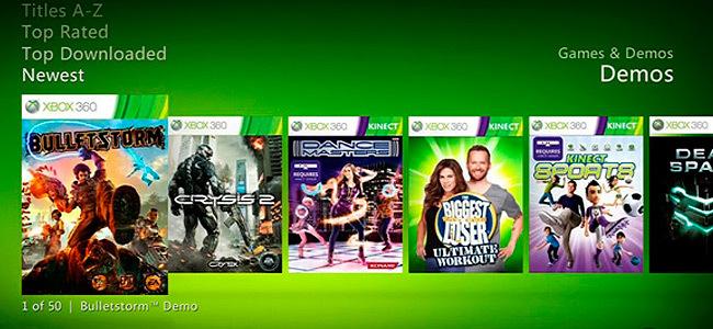 Xbox Demos