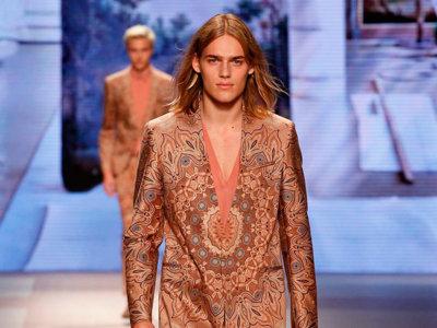 Desfile Etro primavera-verano 2016 Milan Moda Uomo