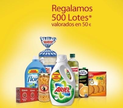 Carrefour regala 500 lotes de 50 euros con tu compra, mañana en Santiago de Compostela