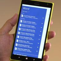 A finales de este mes ya podremos probar Office en Windows 10 para móviles
