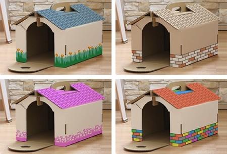 casas de carton mascotas 3