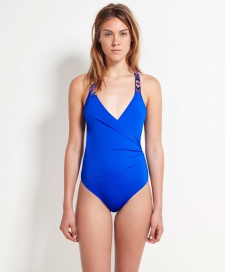 Bañador azul