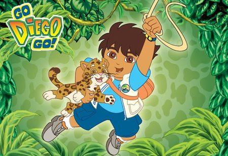 """""""Go, Diego, Go!"""", el primo de Dora la exploradora protagoniza su propia serie"""