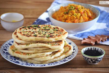 Cómo hacer pan naan casero: el pan más tierno sin horno, tradicional de la India