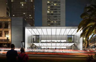 Apple presenta más planos y detalles de su nueva tienda en el centro de San Francisco
