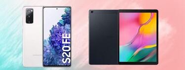 Si compras el Samsung Galaxy S20 FE en Amazon, El Corte Inglés o Media Markt, te llevas la tablet Galaxy Tab A de regalo