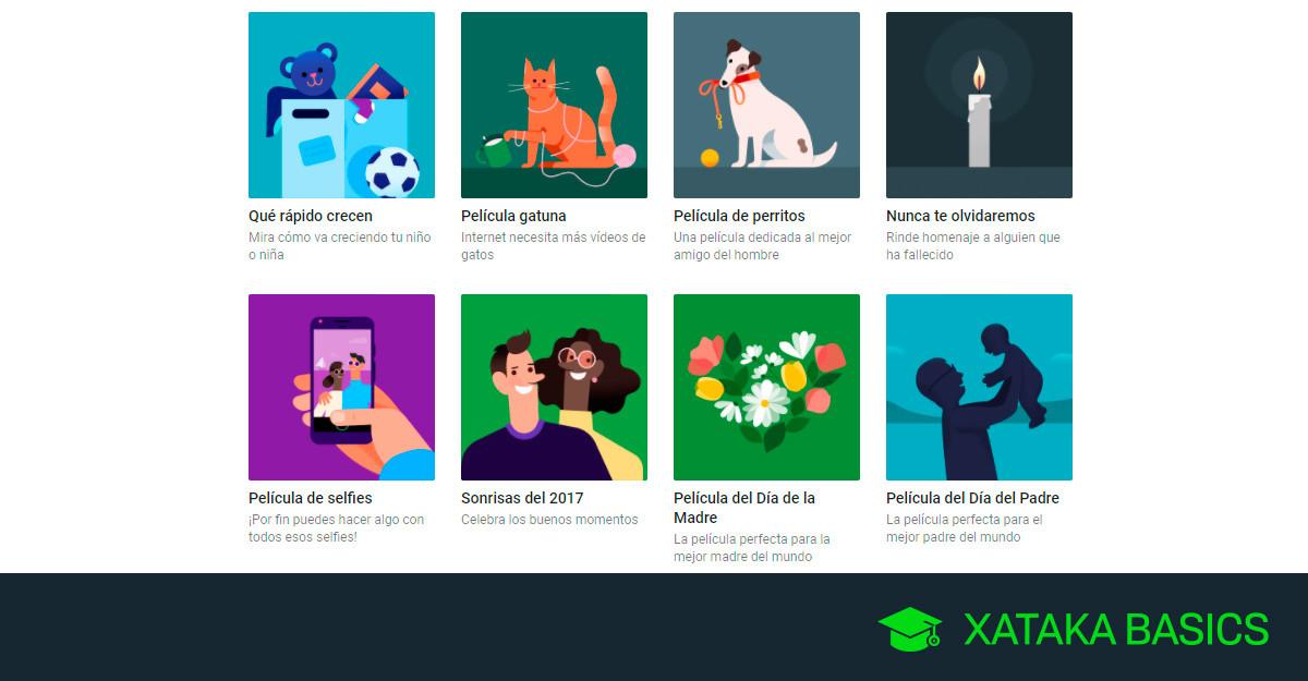 05ed7267b Google Fotos: cómo crear una película para el día del padre o de la madre,  de tu mascota y más