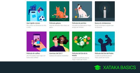 Google Fotos: cómo crear una película para el día del padre o de la madre, de tu mascota y más