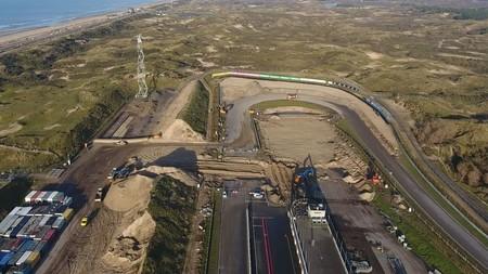 Zandvoort prepara un peralte para su regreso a la Fórmula 1 que será la envidia de Indianápolis