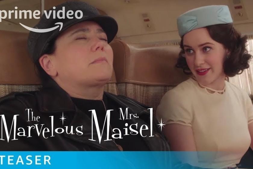 La temporada 3 de 'La maravillosa Sra. Maisel' ya tiene tráiler: Amazon pone fecha de estreno al regreso de Midge
