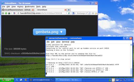 Onionshare, compartiendo archivos de forma anónima y segura