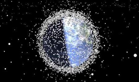 Esta animación muestra el serio problema de basura espacial acumulada desde 1957