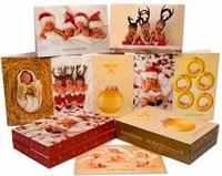 Postales de Navidad de Anne Geddes