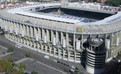 Microsoft podría patrocinar el estadio Santiago Bernabeu del Real Madrid C.F.