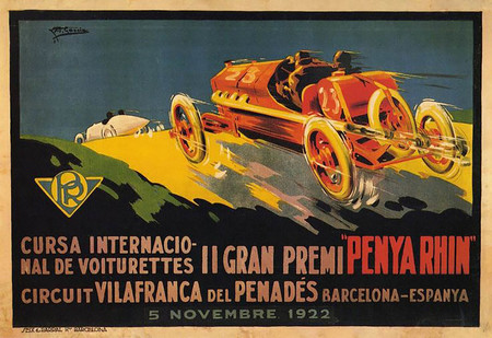 Cartel Gp 1922