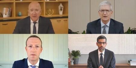 Google, Apple, Facebook y Amazon son acusadas de prácticas monopolísticas por la Cámara de Representantes de los Estados Unidos