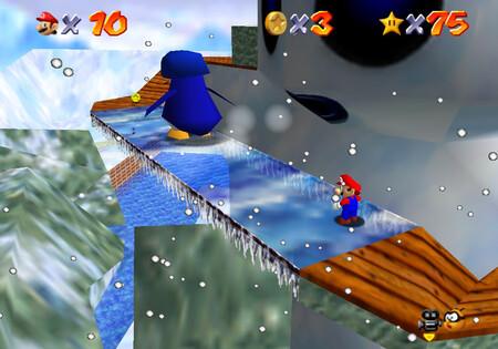 Super Mario 64: cómo conseguir la estrella Snowman's Big Head de Snowman's Land