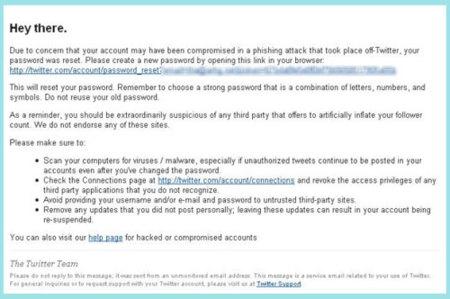 Twitter está bloqueando cuentas para protegerlas de un posible caso de phising