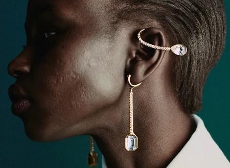La modelo con cicatrices no es el único momento body-positive que Rihanna ha incluido en su campaña de Fenty