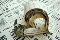 Una guirnalda de corazones de papel, un detalle sencillo para San Valentín