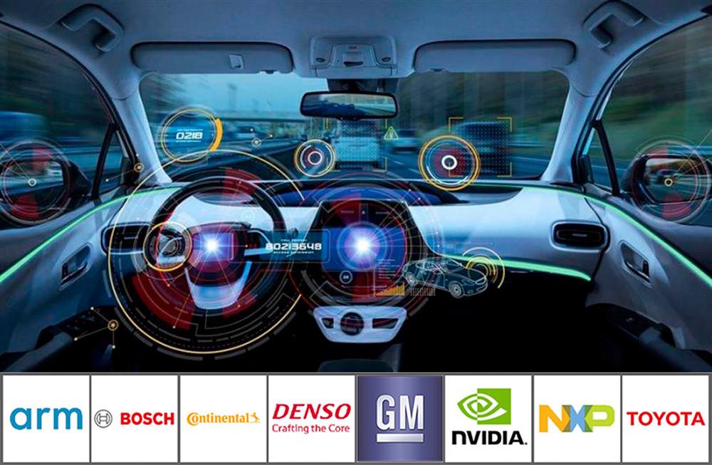 Arm crea un super grupo para impulsar el desarrollo del coche autónomo con GM, Nvidia, Denso, Toyota, Bosch, Continental y NXP